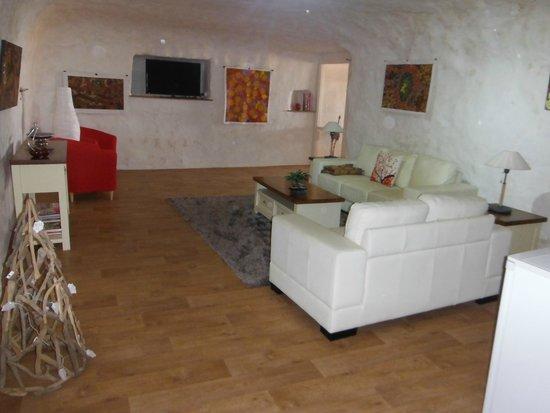 Underground Bed & Breakfast: Room 4 & 5 shared living room