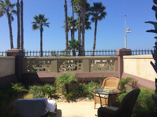"Casa del Mar: the ""ocean view"" from room 111"