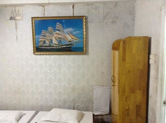 Backpacking Club Hostel: twin room