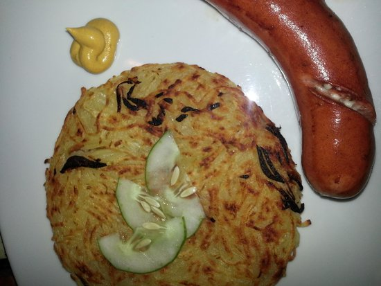 Artcafe : hungarian with rosti