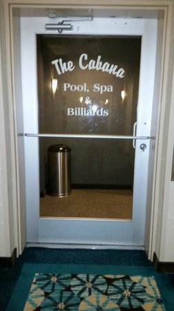 Homewood Suites by Hilton Seattle-Conv Ctr-Pike Street: entrance to the pool and activity room on the 5th floor