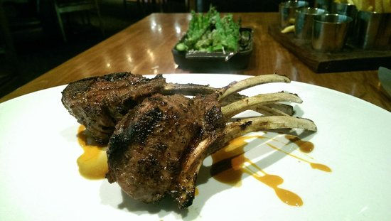 ARCADIA: The $48 Lamb Rack. SO GOOD. It's more meat than it looks like.