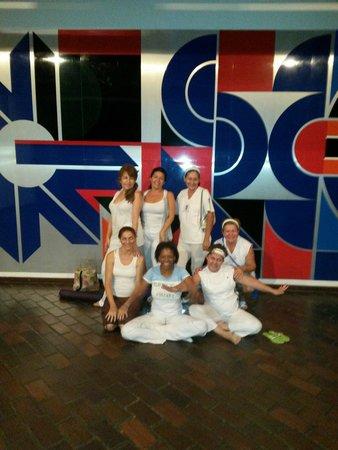 Ciudad Bolivar, Wenezuela: Yoga en el museo
