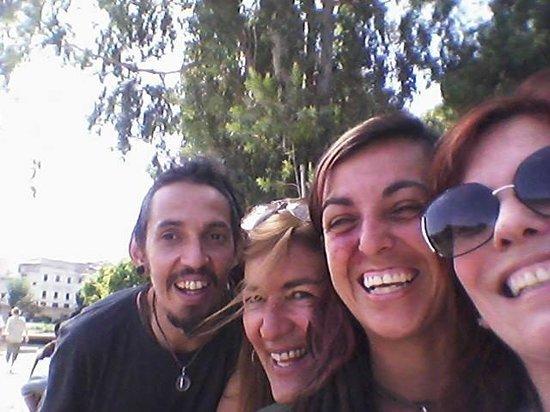 Jardin Jnan Sbil : Amigos no jardim Jnan Sbil
