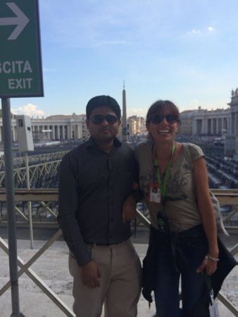 Walks Inside Rome: Best guide in Rome without a doubt... Thank you so much for giving a in depth tour of Vatican .
