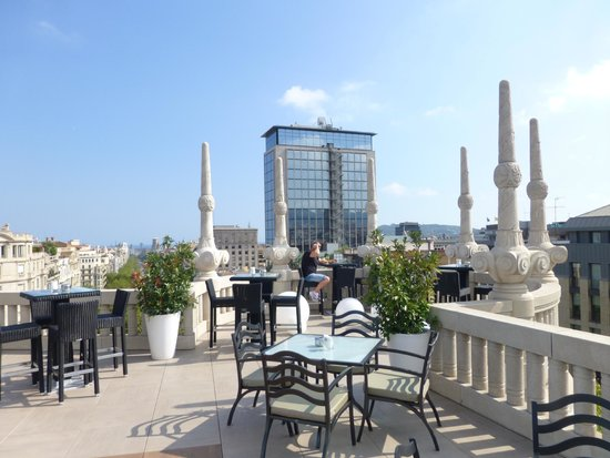 Hotel Casa Fuster: Rooftop Lounge and View