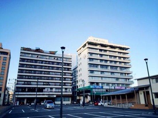 Hanabishi Hotel : 外観