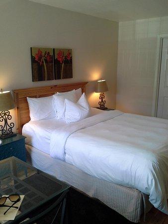 Leavenworth Village Inn: deluxe queen room