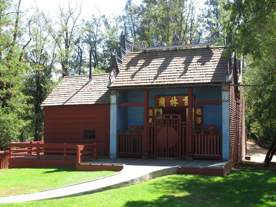 Weaverville Joss House State Historic Park : The Weaverville (California) Joss House