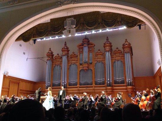Tchaikovsky Concert Hall: Большой зал