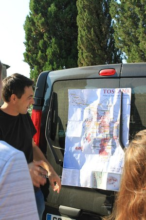 Tuscan Wine Tours by Grape Tours: Our first stop