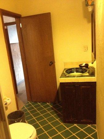 El Hotelito: Baño de la habitación número 9