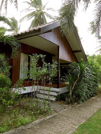 Am Samui Resort : Garden view bungalow exterior