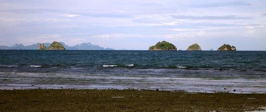 Am Samui Resort : Distant view from Am Samui