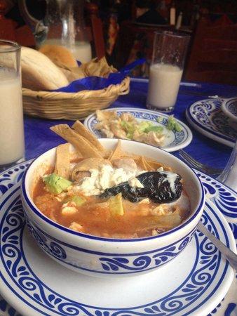 Fonda de Santa Clara: Sopa azteca