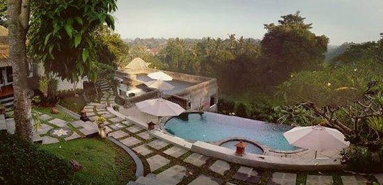 Ubud Dedari Villas: Amazing view from our patio