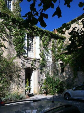 L'Abbaye Chateau De Camon: Front Door