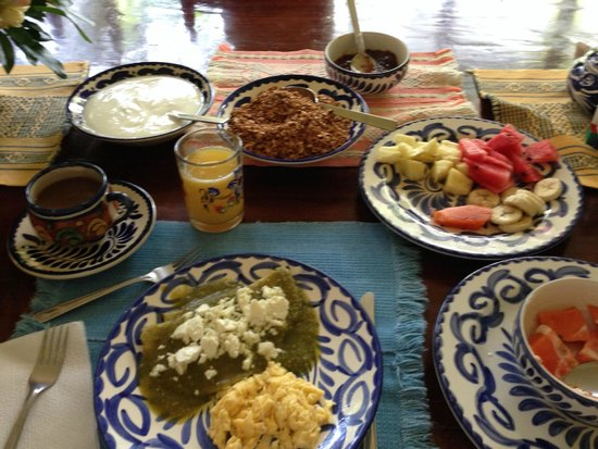 Casa Colonial: Desayuno completo