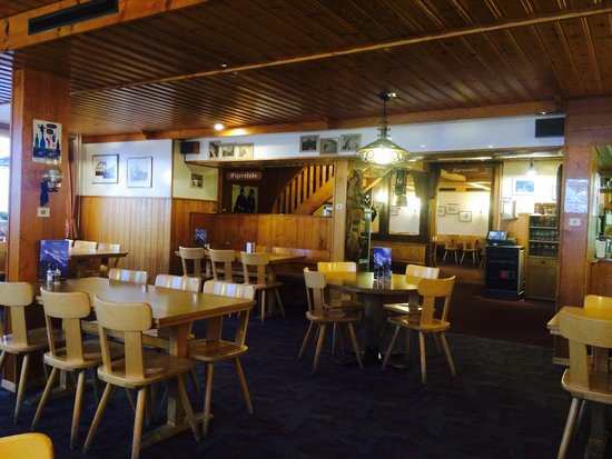 Berggasthaus Mannlichen : Restaurant