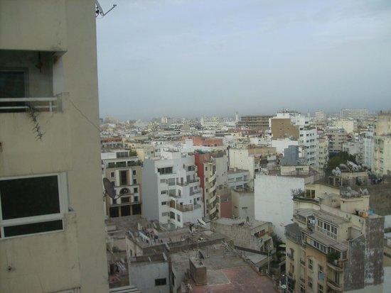 Barcelo Casablanca Hotel: view from window 10th floor