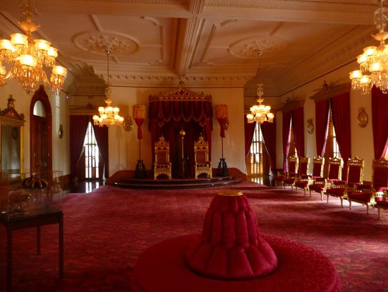 Iolani Palace: Room inside the Palace