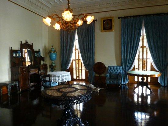 Queen Liliuokalani Palace Inside Room inside the Palace...