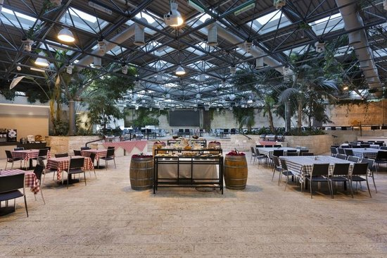 Prima Park Hotel Jerusalem: Dining room/Event Hall