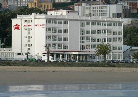 Perillo, Spanyol: Fachada hotel