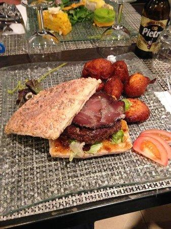 U Santu Petru : Meilleur Burger Maison de L'ile