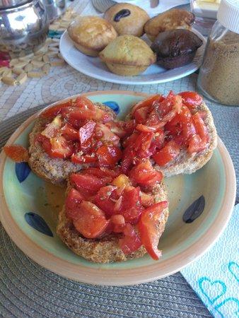 B&B Villa delle Palme : Prima colazione
