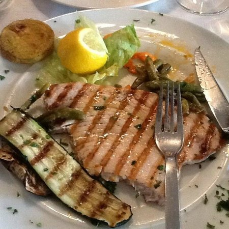 CONSOLE & CO.: GRILLED SWORDFISH