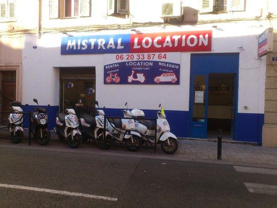 Mistral Location
