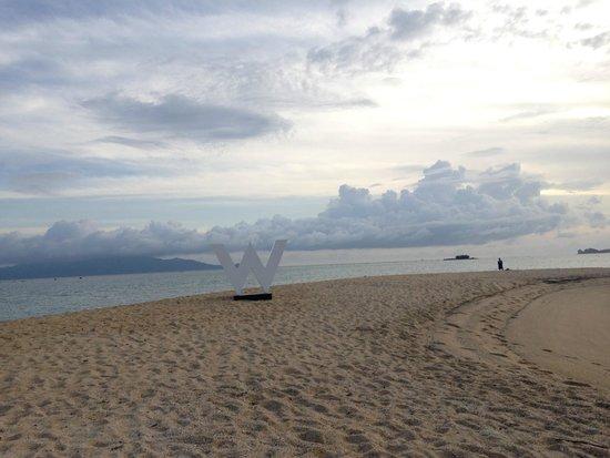 W Retreat Koh Samui : Beach morning