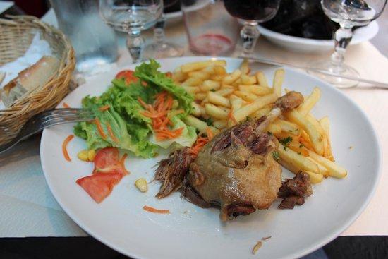 Le Jardin du Roy: утка