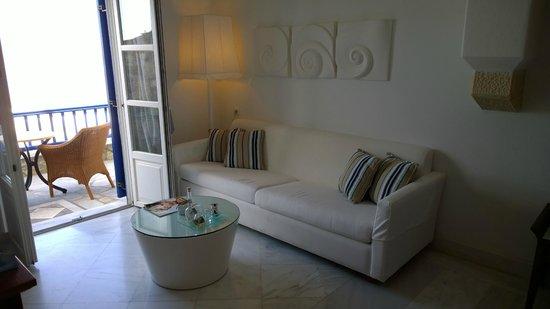 Mykonos Grand Hotel & Resort : Zimmer 215