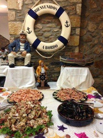 Hotel San Carlos : Buffet libre temático marinero