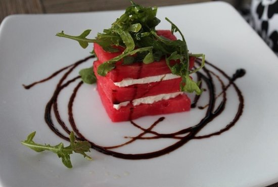 Ocean & Vine: watermelon & feta