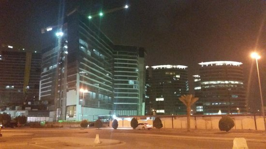 Mercure Value Riyadh: Building opposite
