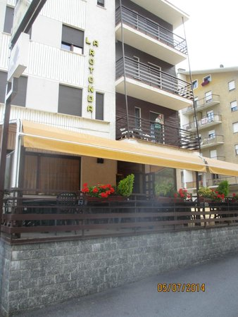 Hotel La Rotonda: Facciata anteriore