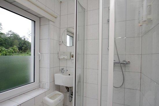 Waldhaus Hotel Winterberg: Badezimmer Standardzimmer