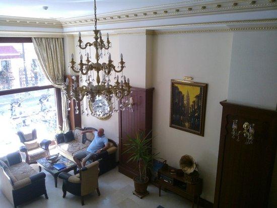 Sirkeci Park Hotel: Hall
