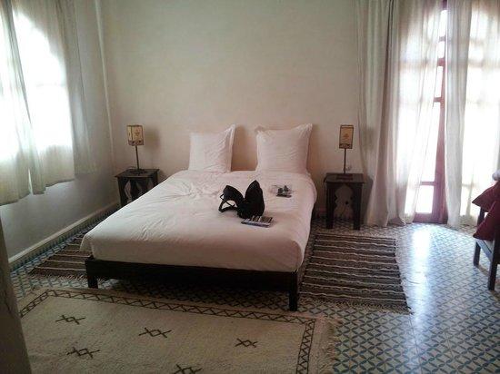 Dar Essaada: Nuestra preciosa y gran habitación