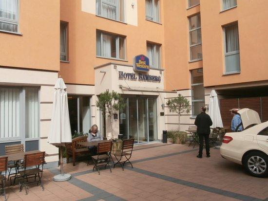Best Western Hotel Bamberg: Entrance