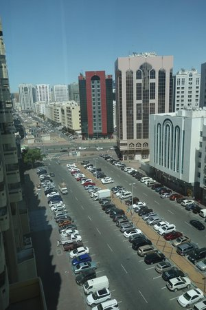 Mercure Abu Dhabi Centre Hotel: view from room