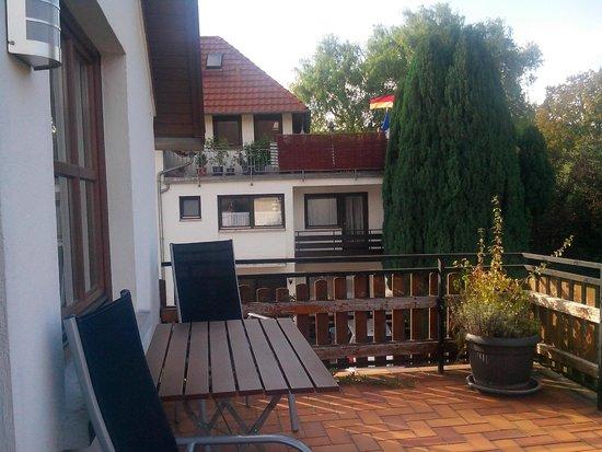 Hotel Restaurant Engel: Terraza