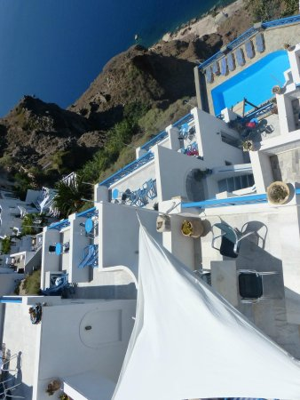 Scirocco Apartments: View from balcony