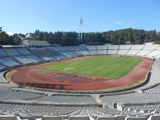 Estadio Nacional: Hollowed ground.