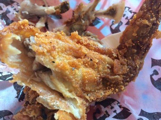 Hill Country Chicken: Weird Orange Seasoning