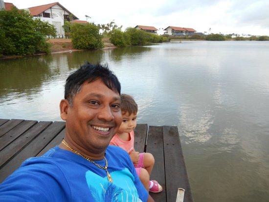 Anantaya Resort & Spa Chilaw: at the pier