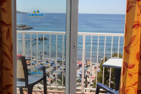 Port Mar Blau: the view from my 6th floor room